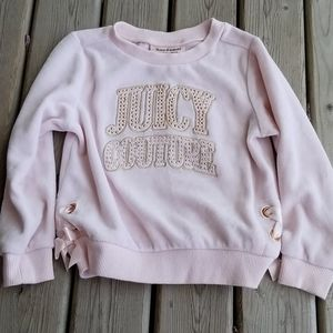 Juicy Couture velour sweater